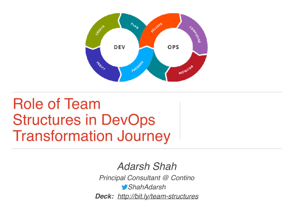 Role of Team Structures in DevOps Transformatio...