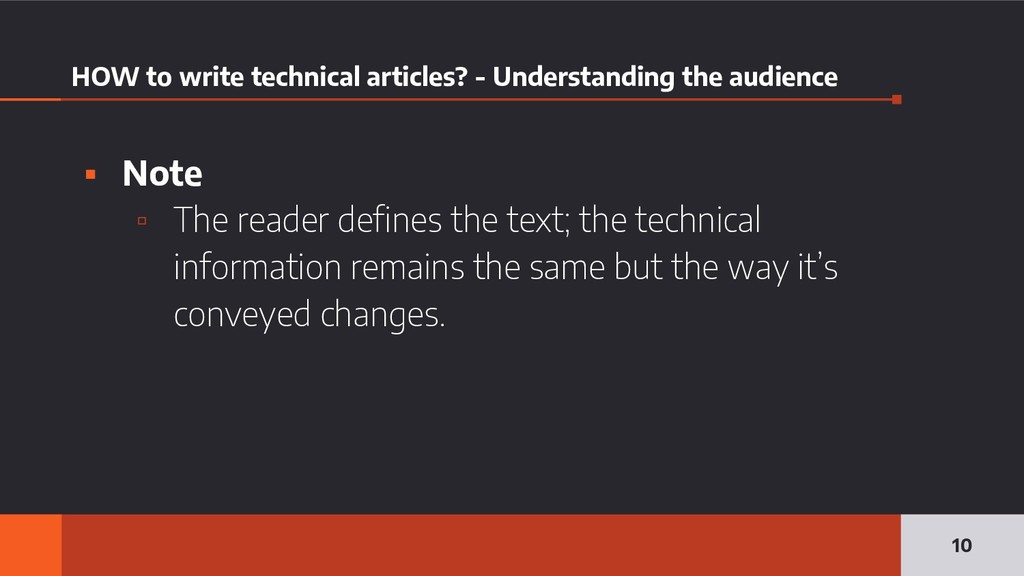 HOW to write technical articles? - Understandin...