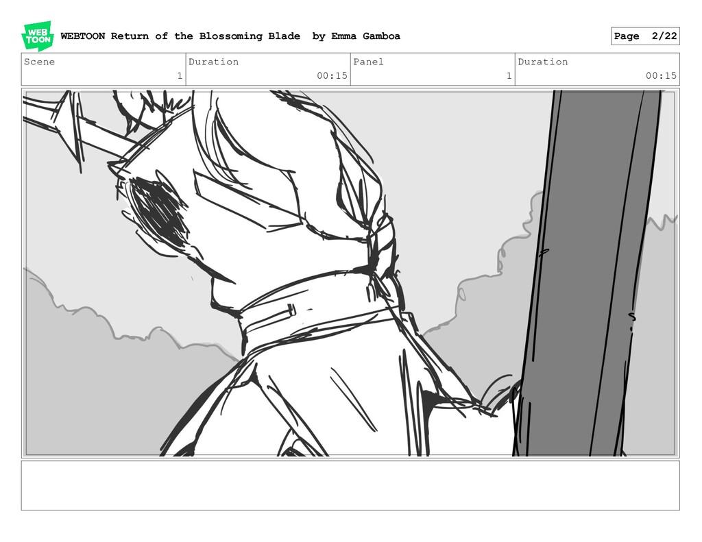 Scene 1 Duration 00:15 Panel 1 Duration 00:15 W...