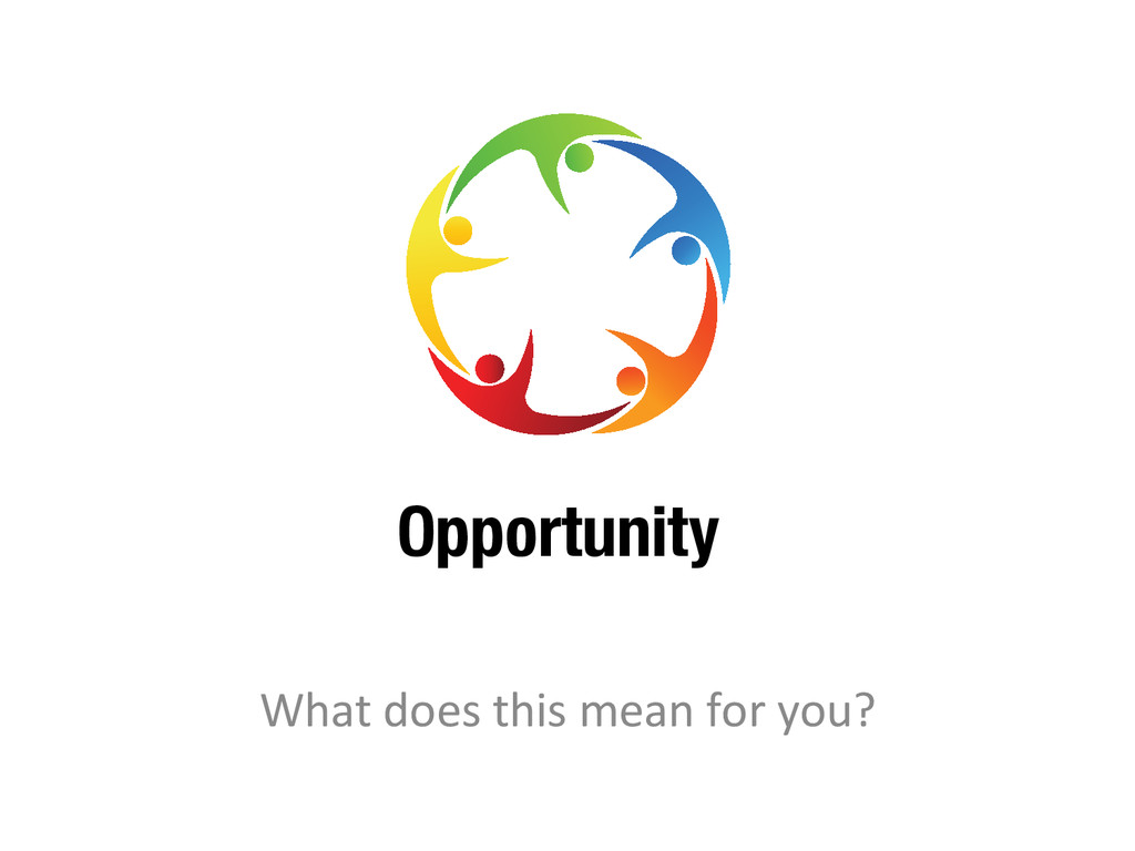 Opportunity What does this mean fo...