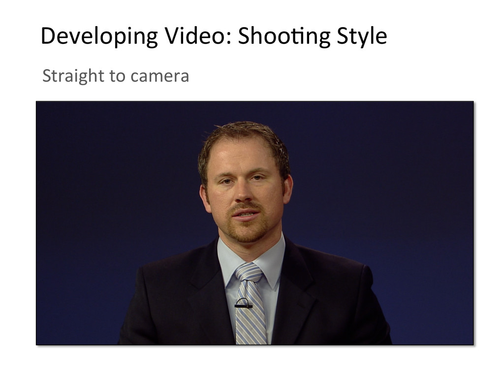 Developing Video: ShooBng Style  St...