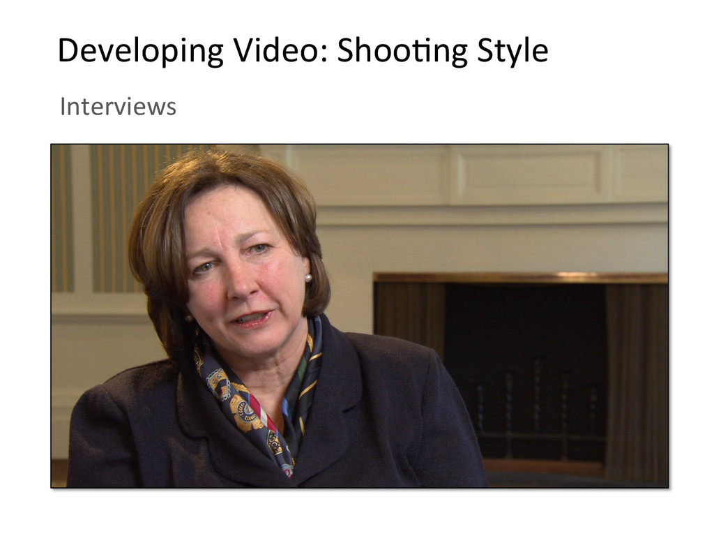 Developing Video: ShooBng Style  ...