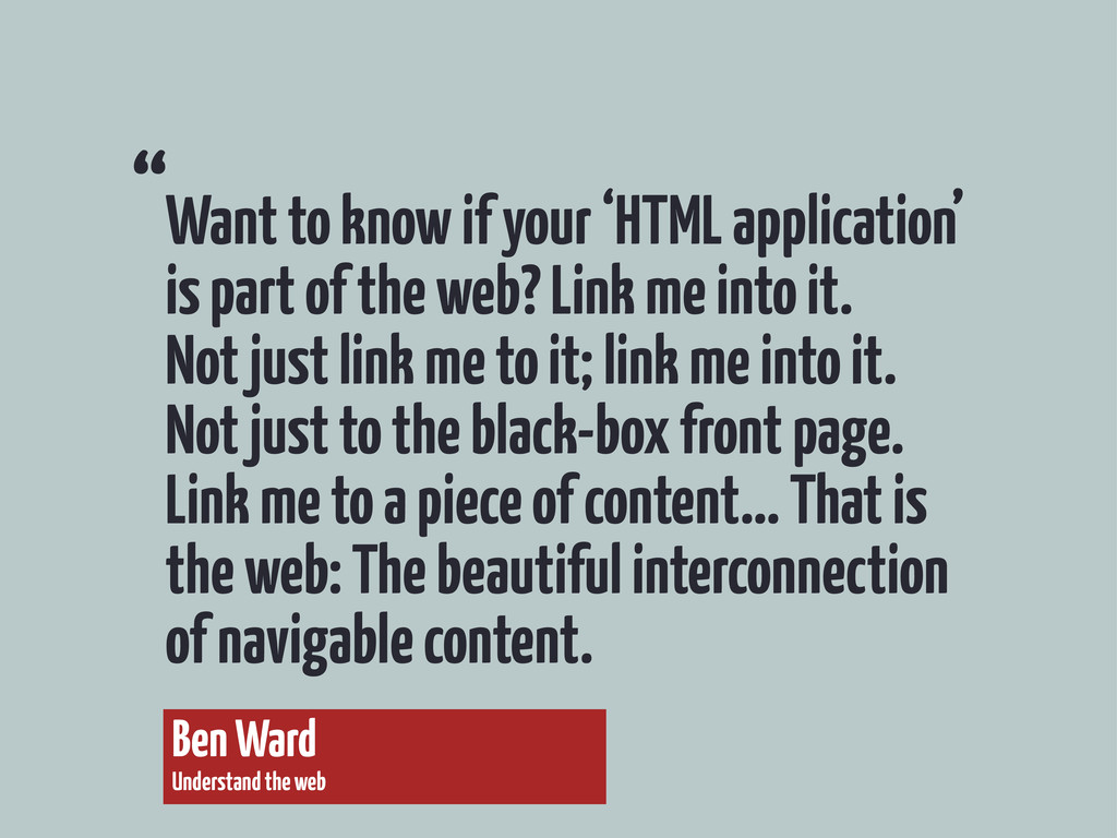 Want to know if your 'HTML application' is part...