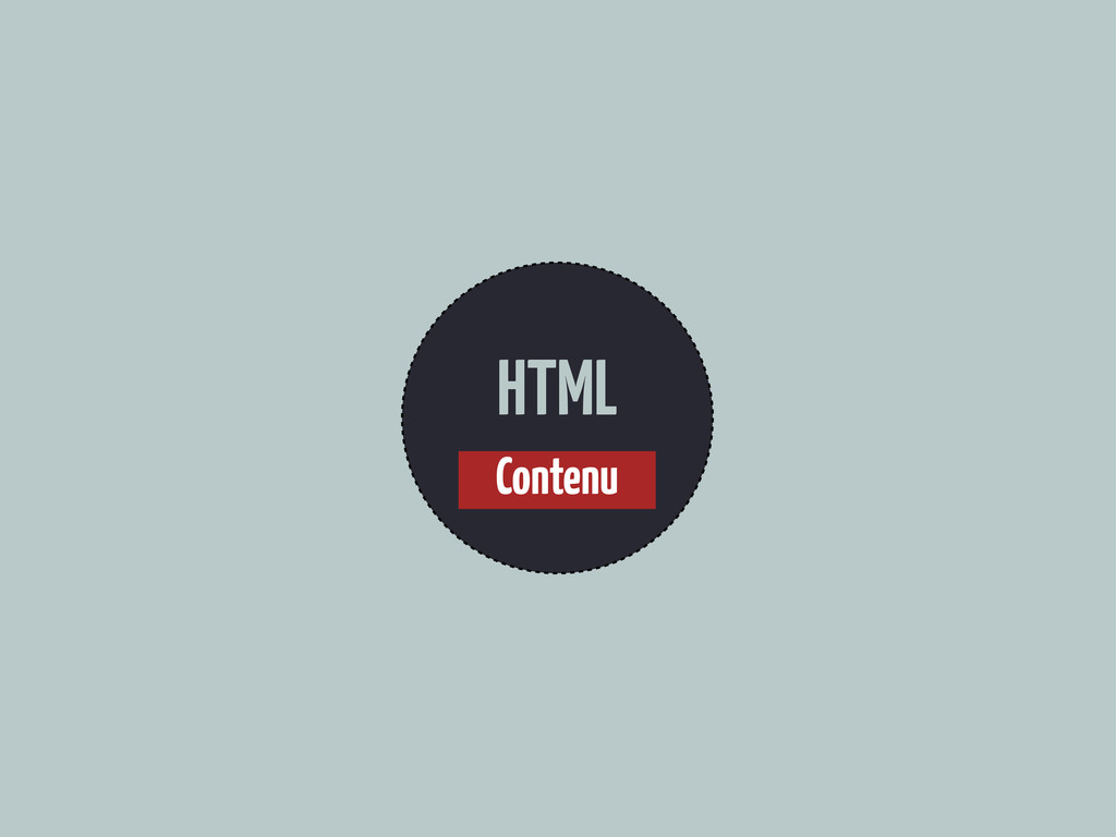 HTML Contenu