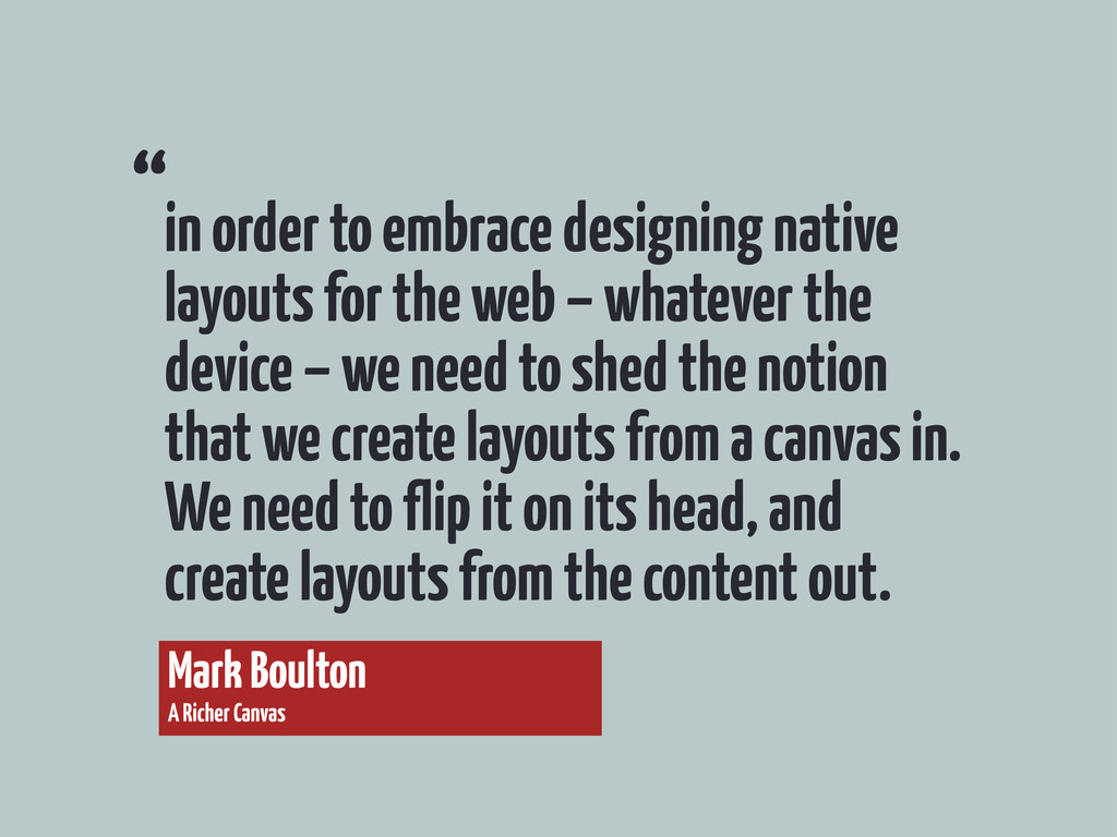 in order to embrace designing native layouts fo...