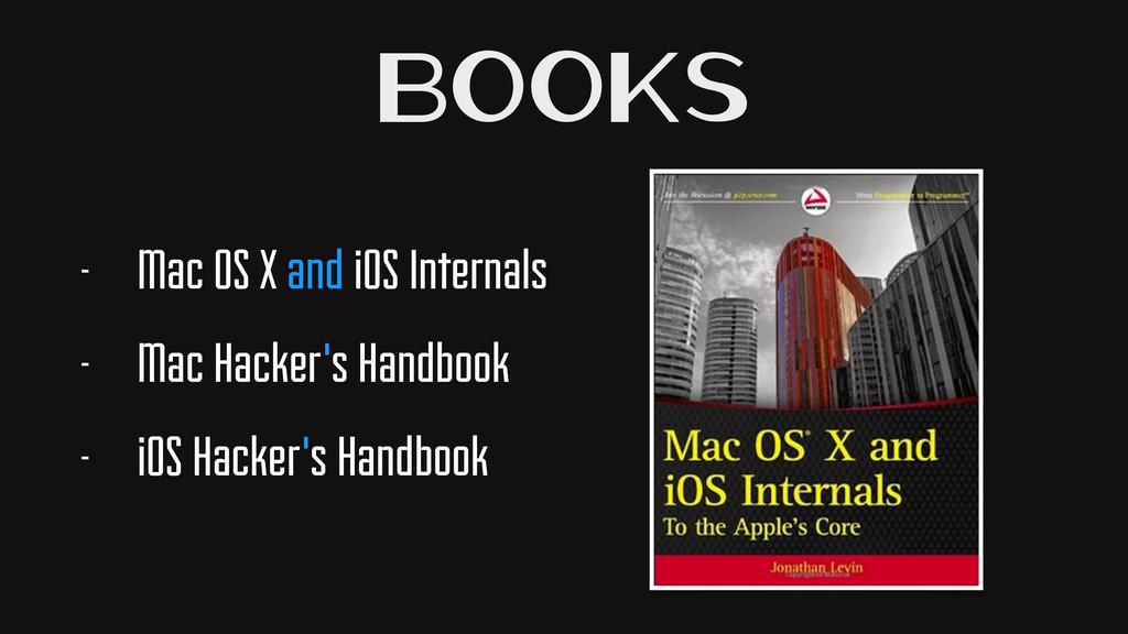 Books - Mac OS X and iOS Internals - Mac Hacker...