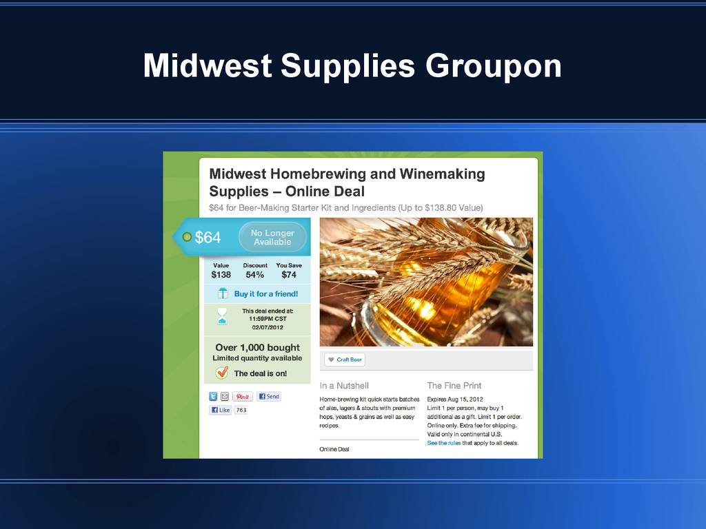 Midwest Supplies Groupon