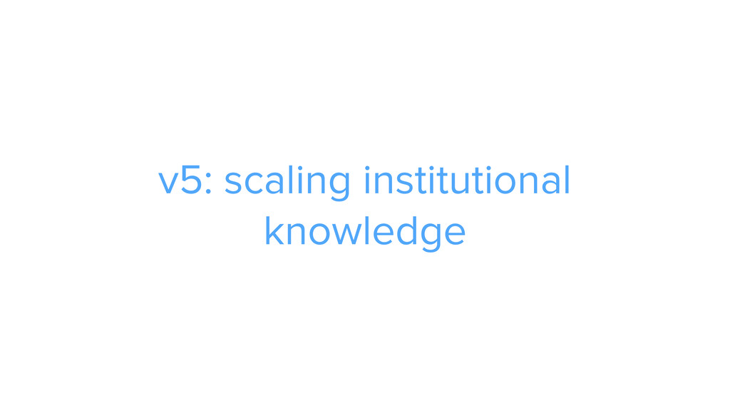 CAROUSEL ADS ADS v5: scaling institutional know...