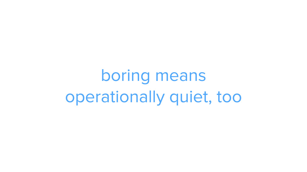 boring means 