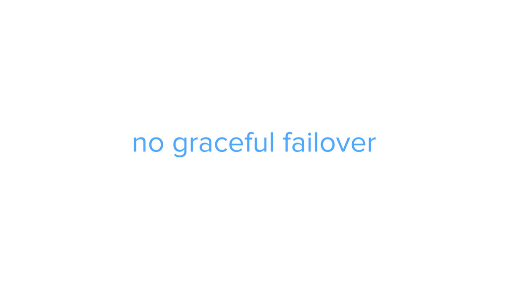 CAROUSEL ADS ADS no graceful failover