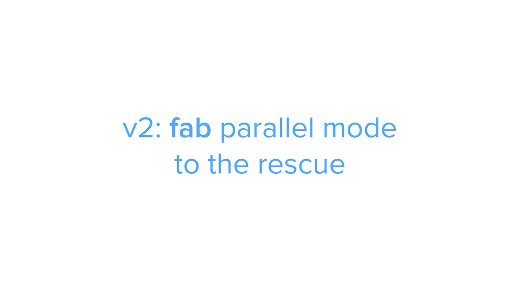 CAROUSEL ADS ADS v2: fab parallel mode 