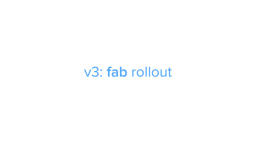 CAROUSEL ADS ADS v3: fab rollout