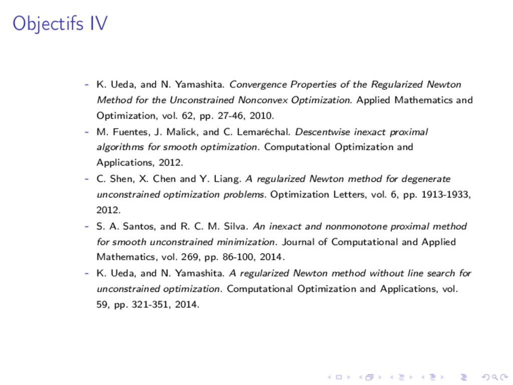 Objectifs IV - K. Ueda, and N. Yamashita. Conve...