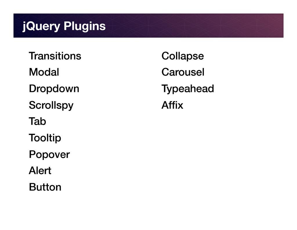 jQuery Plugins