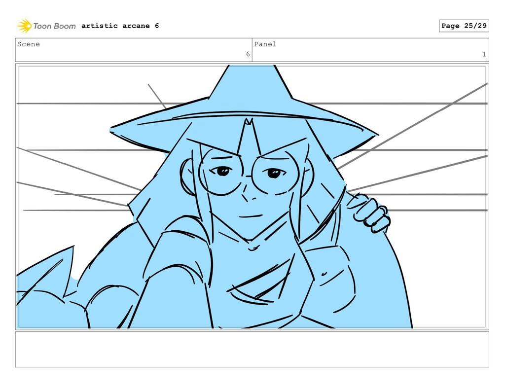 Scene 6 Panel 1 artistic arcane 6 Page 25/29