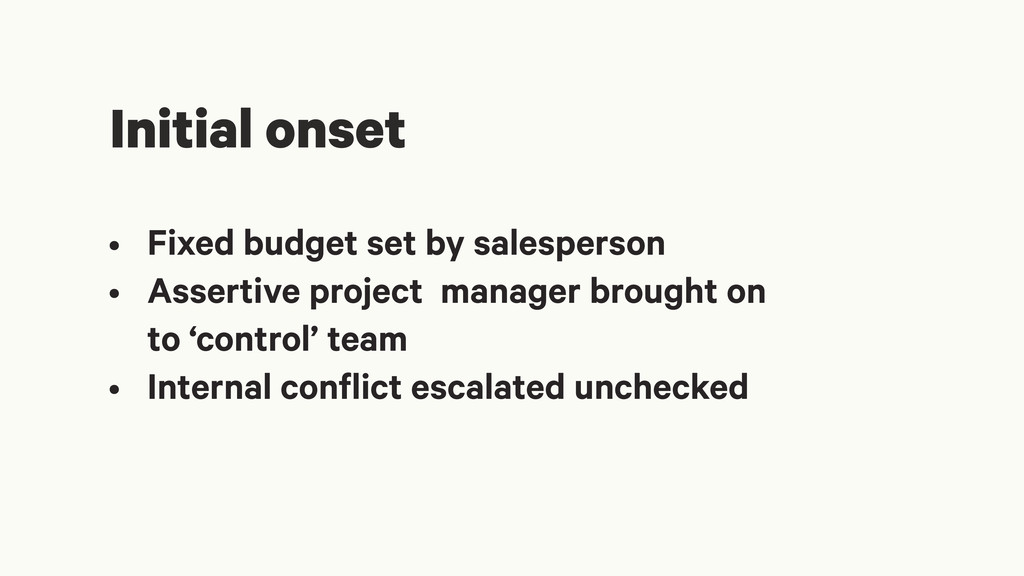 • Fixed budget set by salesperson • Assertive p...