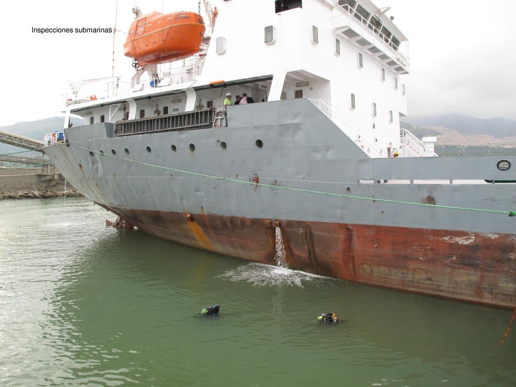 Inspecciones submarinas