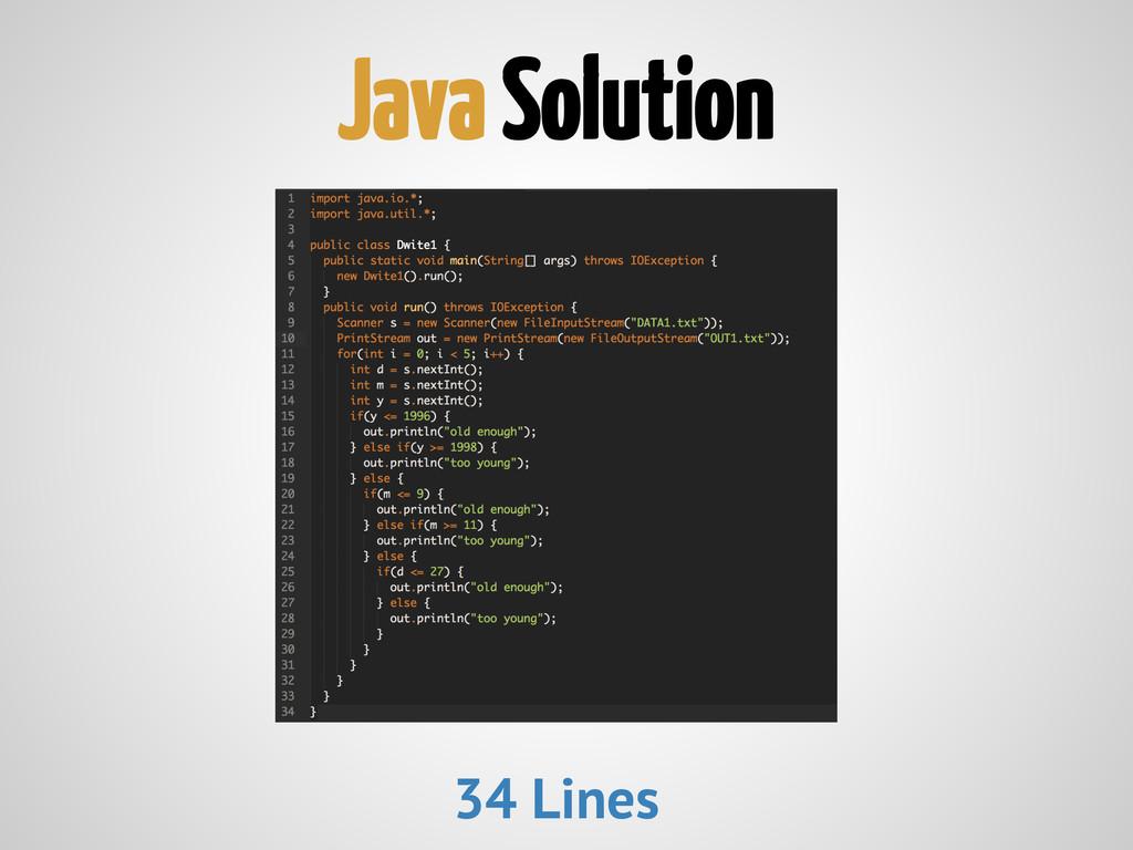 Java Solution 34 Lines