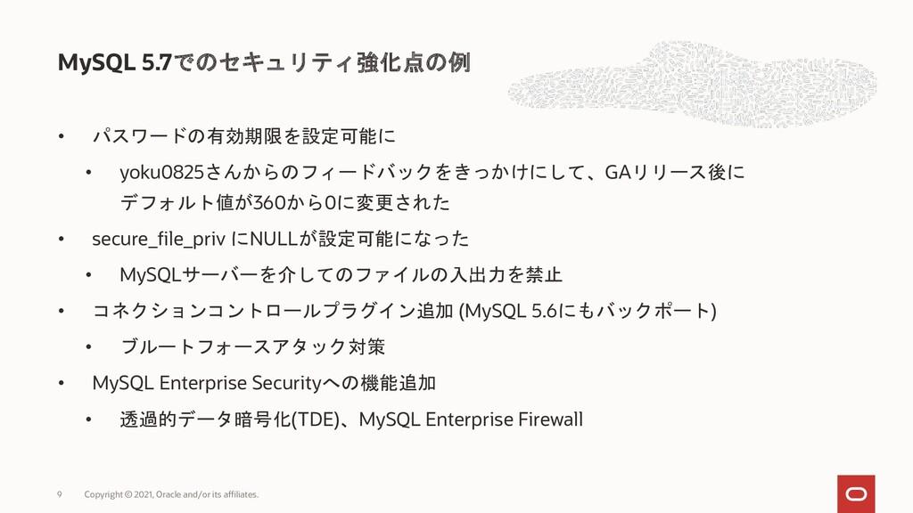 • パスワードの有効期限を設定可能に • yoku0825さんからのフィードバックをきっかけに...