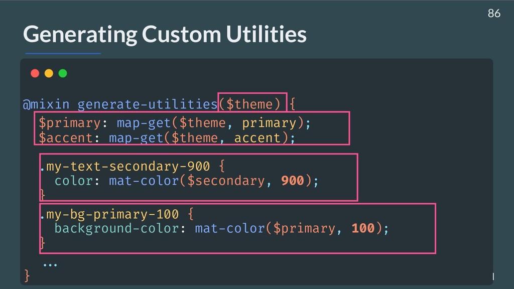 AHASALL / JDJEBARI Generating Custom Utilities ...