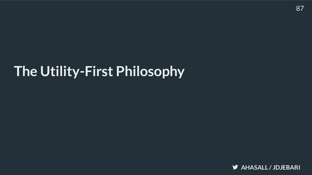 AHASALL / JDJEBARI The Utility-First Philosophy...