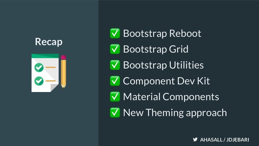 AHASALL / JDJEBARI ✅ Bootstrap Reboot ✅ Bootstr...