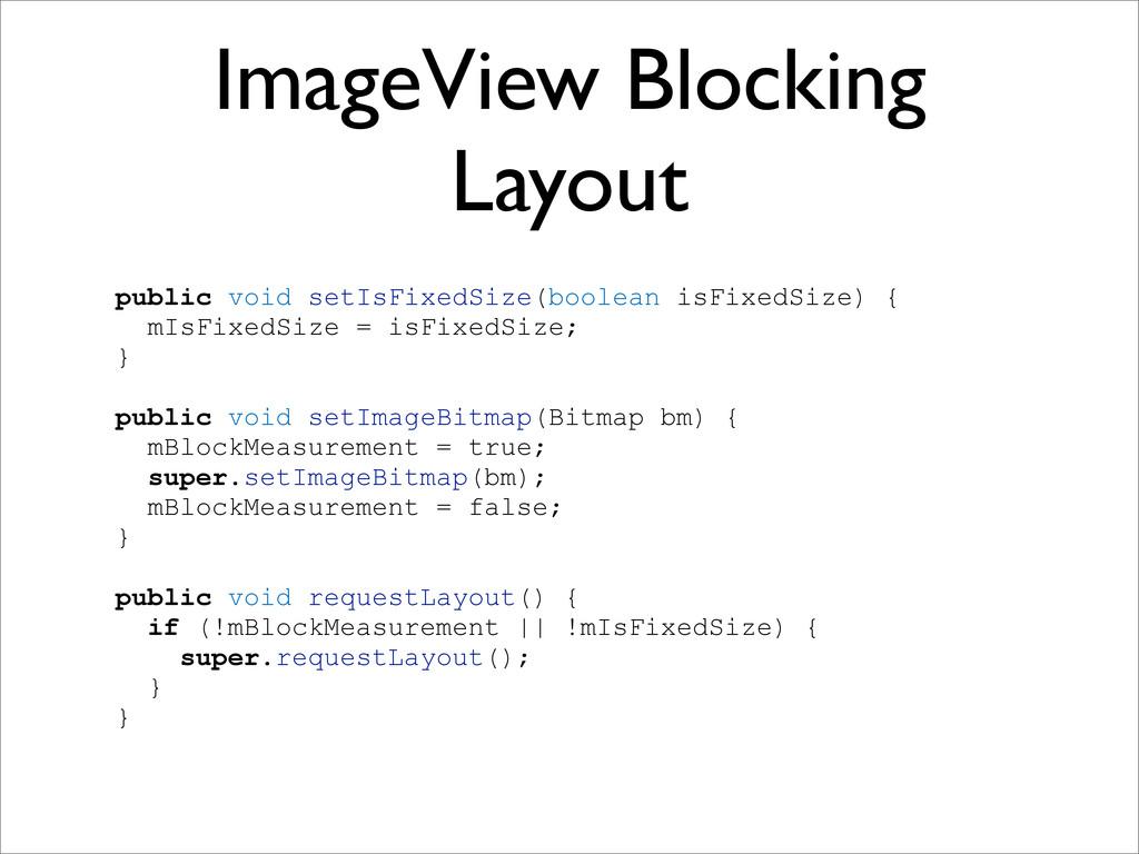 ImageView Blocking Layout public void setIsFixe...