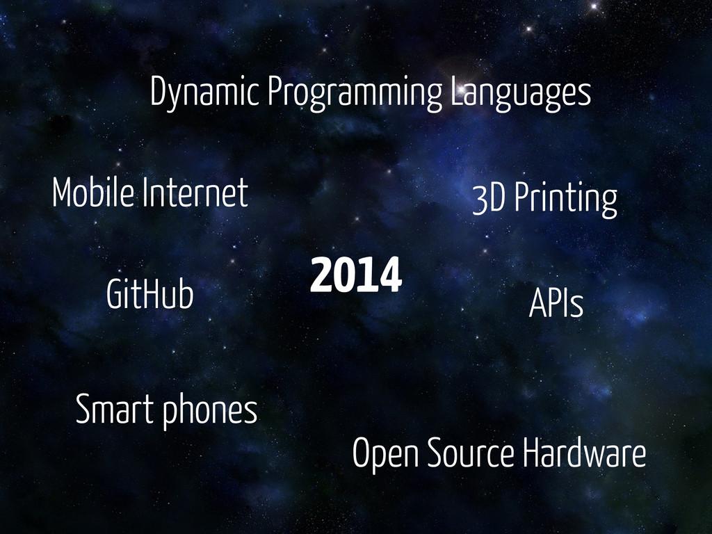 APIs Open Source Hardware Smart phones Dynamic ...