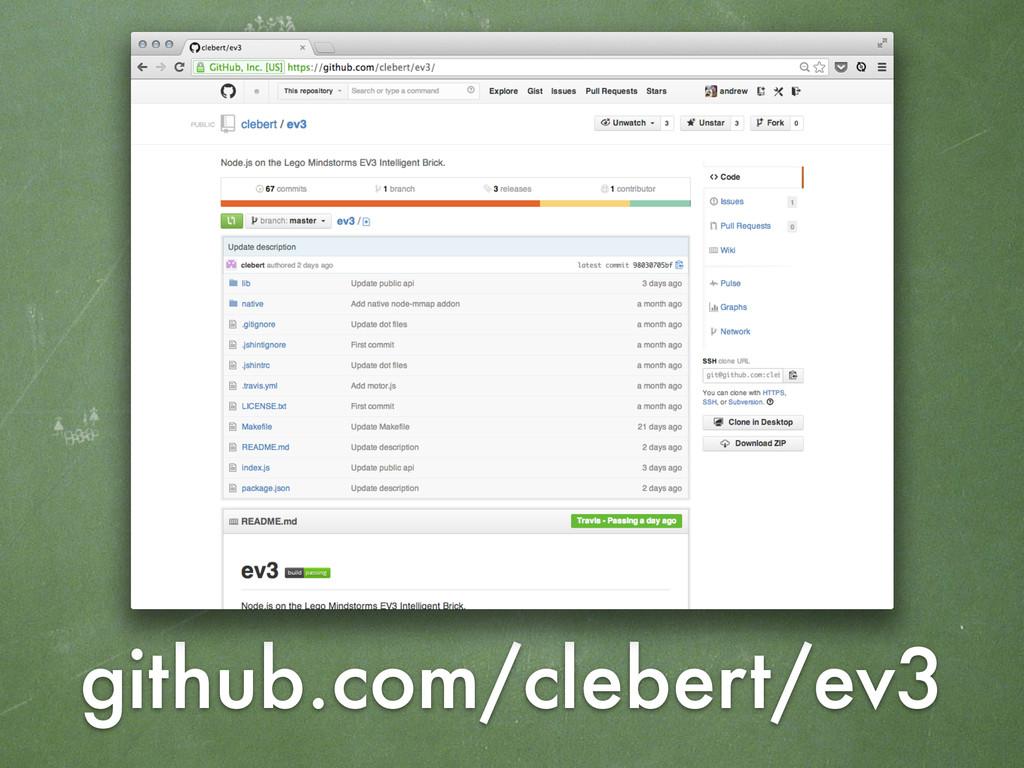 github.com/clebert/ev3