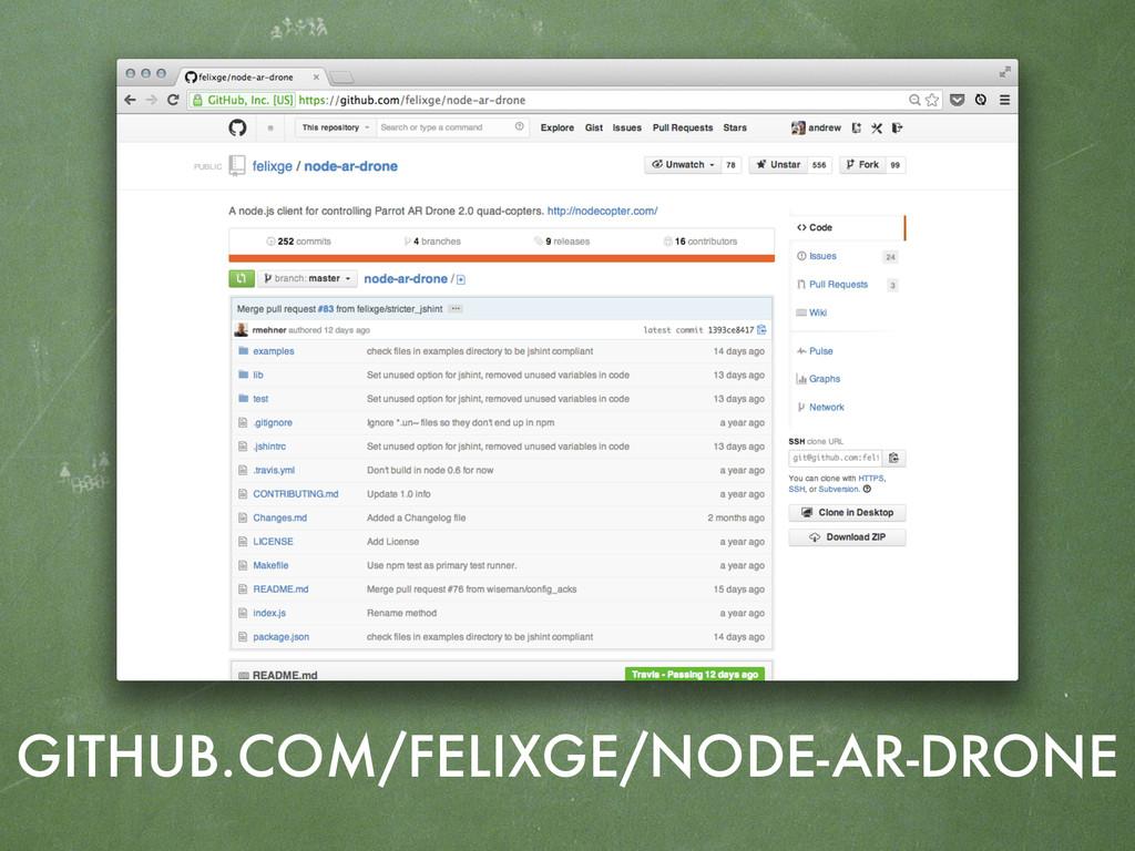 GITHUB.COM/FELIXGE/NODE-AR-DRONE
