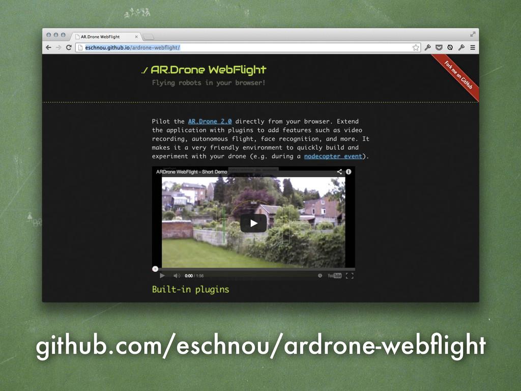 github.com/eschnou/ardrone-webflight