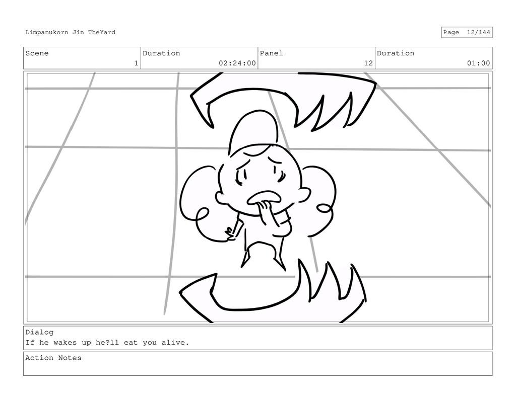 Scene 1 Duration 02:24:00 Panel 12 Duration 01:...