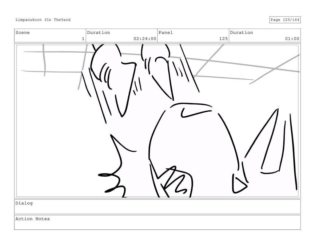 Scene 1 Duration 02:24:00 Panel 125 Duration 01...