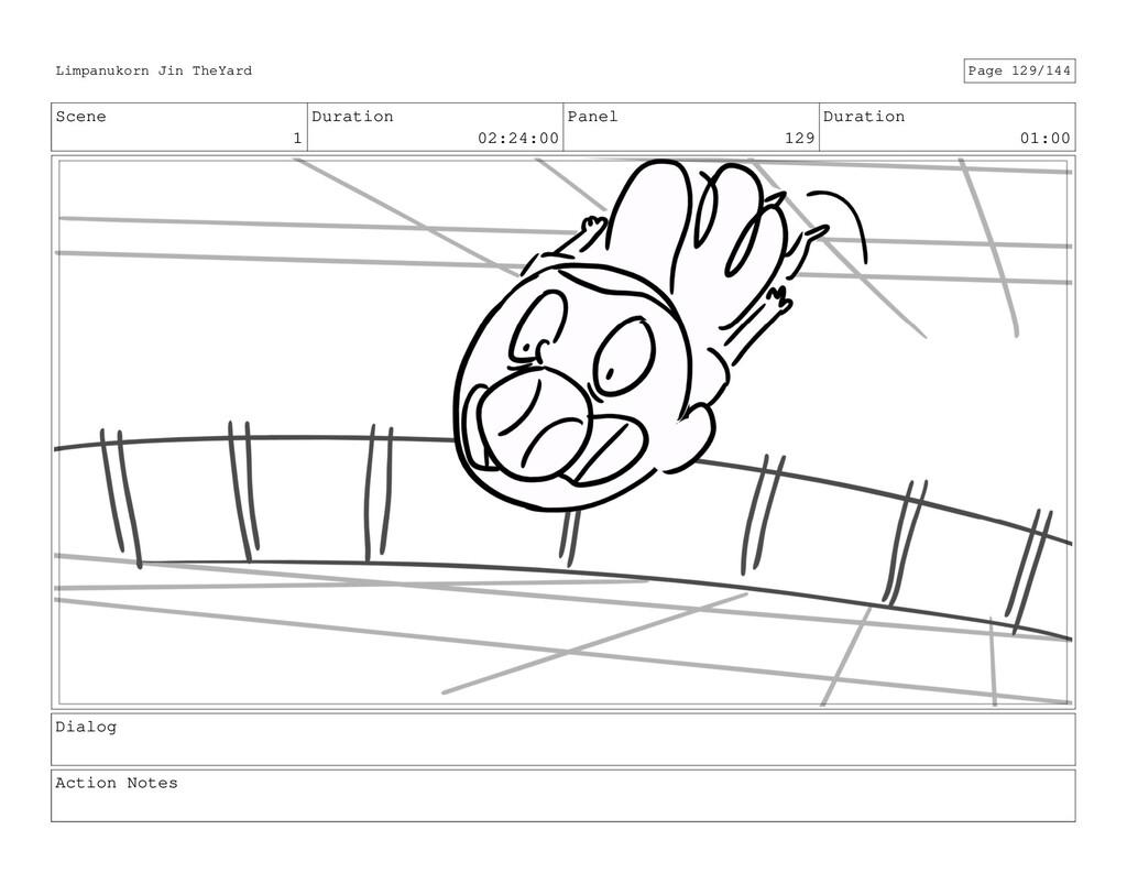Scene 1 Duration 02:24:00 Panel 129 Duration 01...