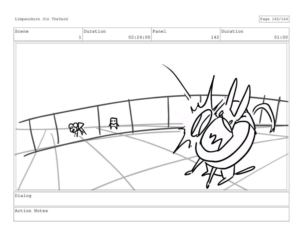 Scene 1 Duration 02:24:00 Panel 142 Duration 01...