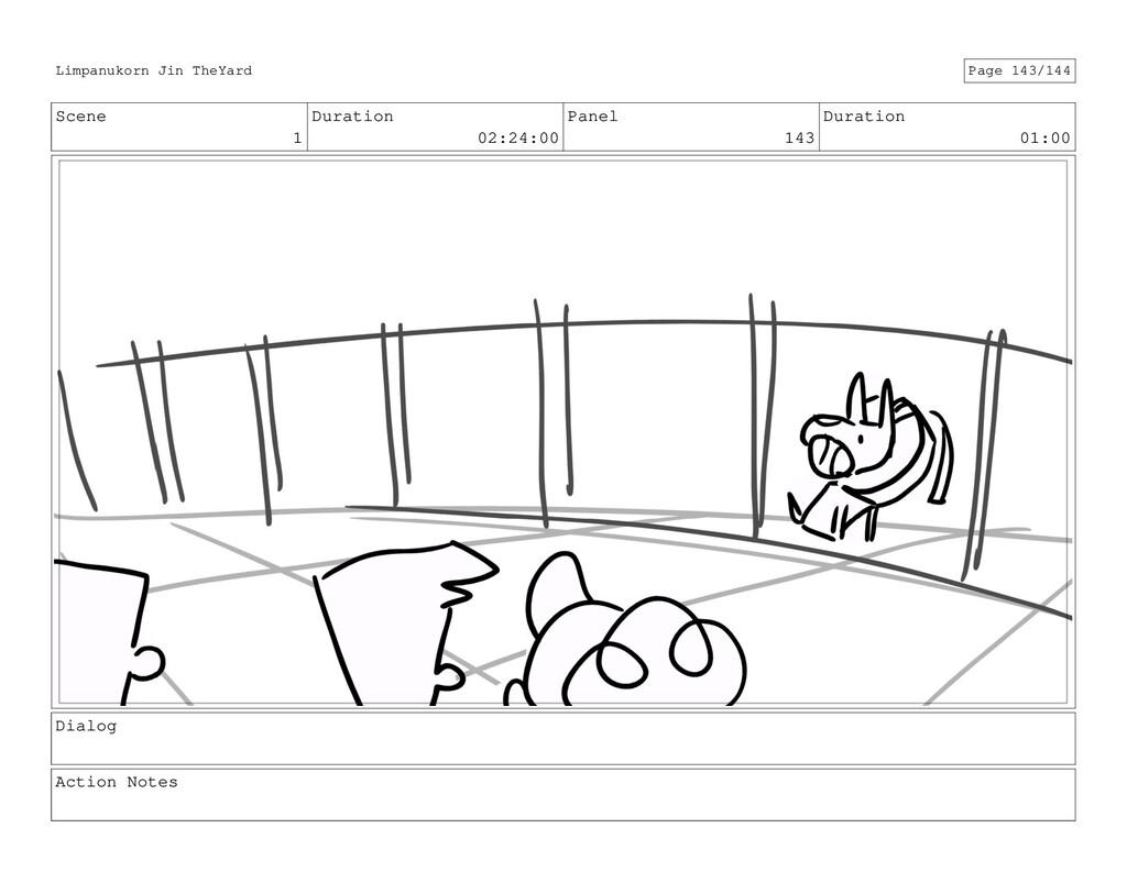 Scene 1 Duration 02:24:00 Panel 143 Duration 01...