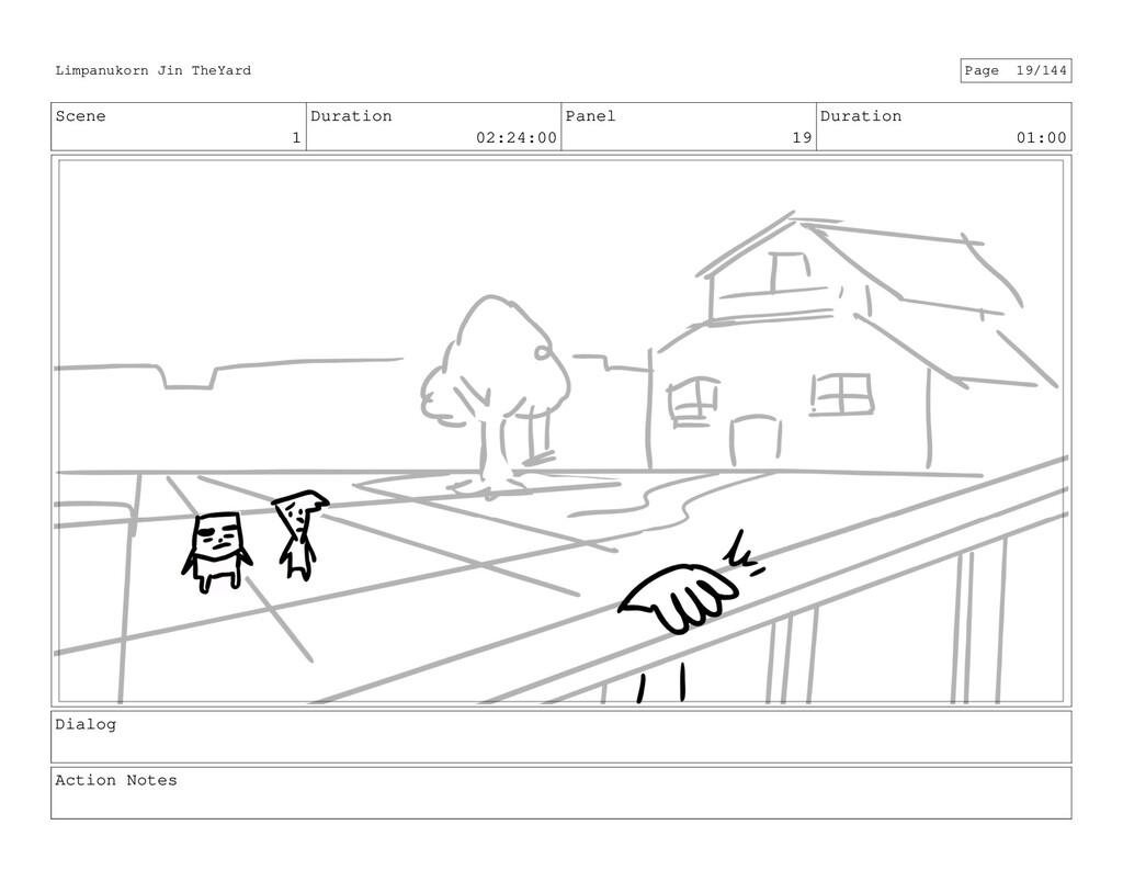 Scene 1 Duration 02:24:00 Panel 19 Duration 01:...