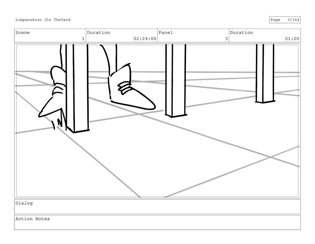 Scene 1 Duration 02:24:00 Panel 3 Duration 01:0...