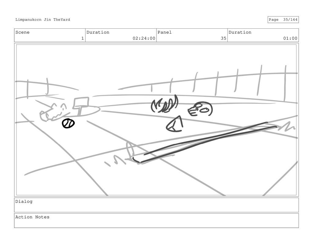 Scene 1 Duration 02:24:00 Panel 35 Duration 01:...