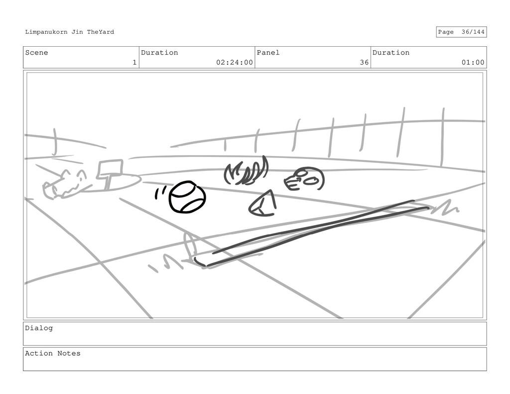 Scene 1 Duration 02:24:00 Panel 36 Duration 01:...