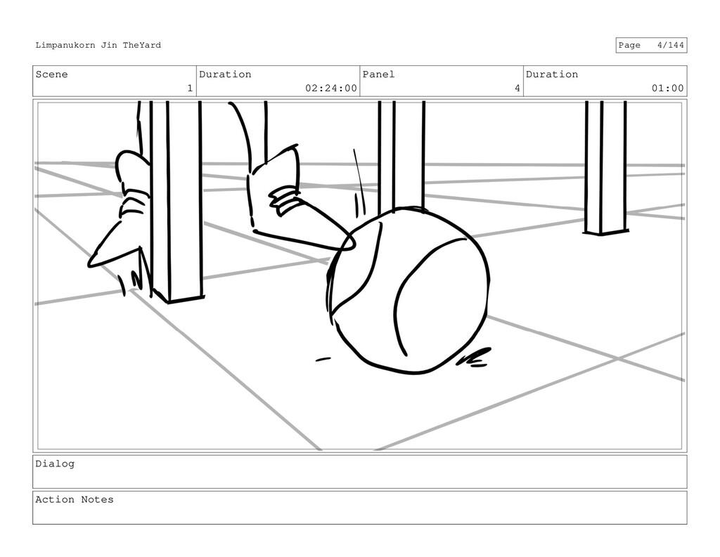 Scene 1 Duration 02:24:00 Panel 4 Duration 01:0...