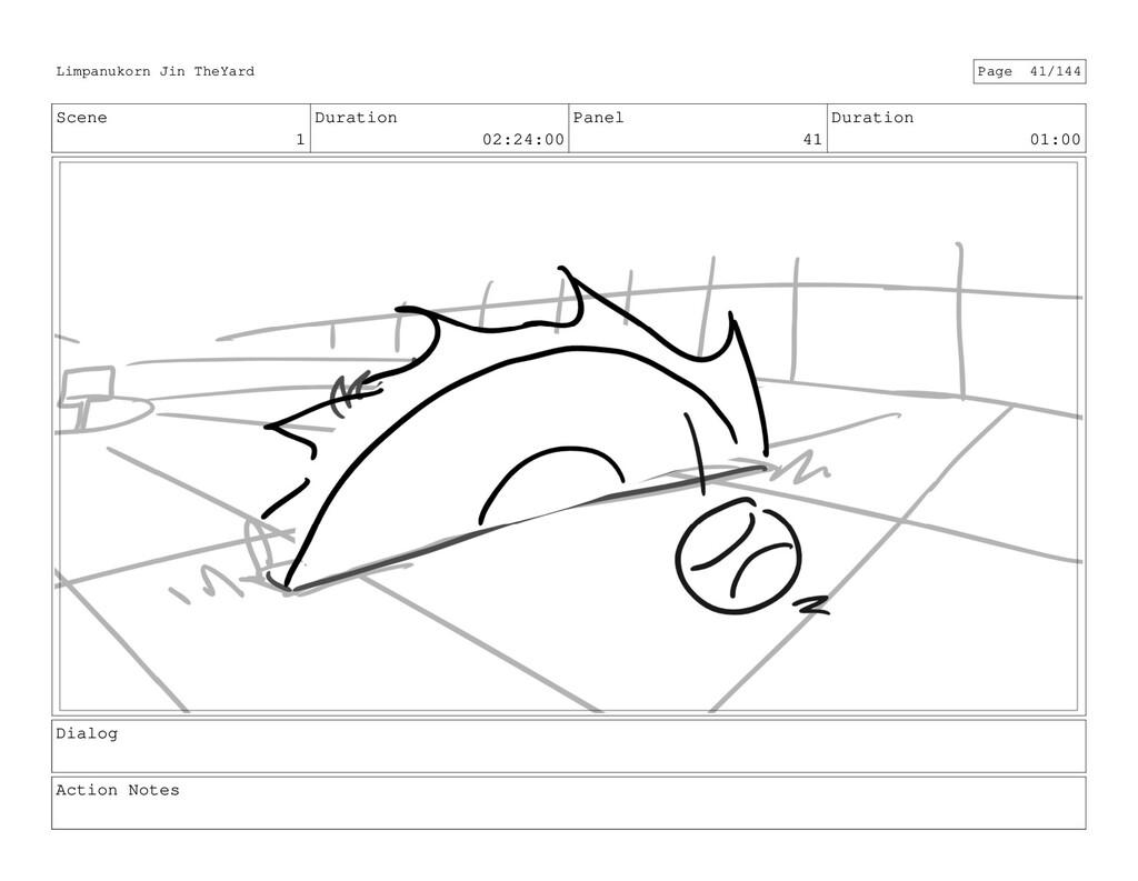 Scene 1 Duration 02:24:00 Panel 41 Duration 01:...