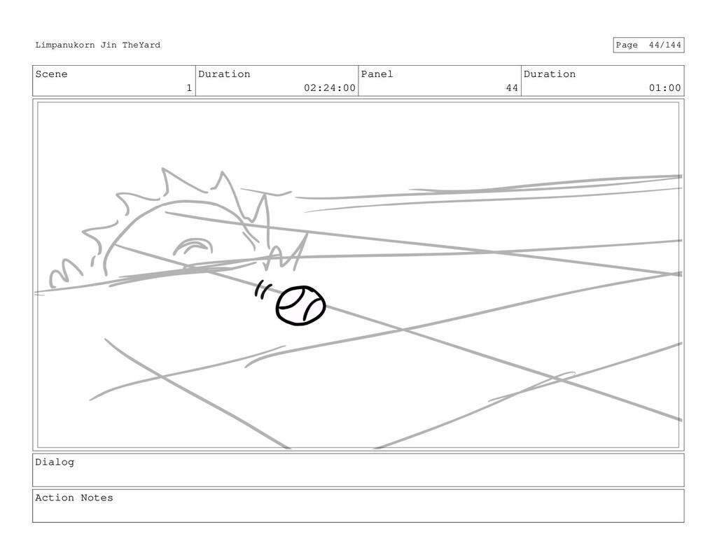 Scene 1 Duration 02:24:00 Panel 44 Duration 01:...