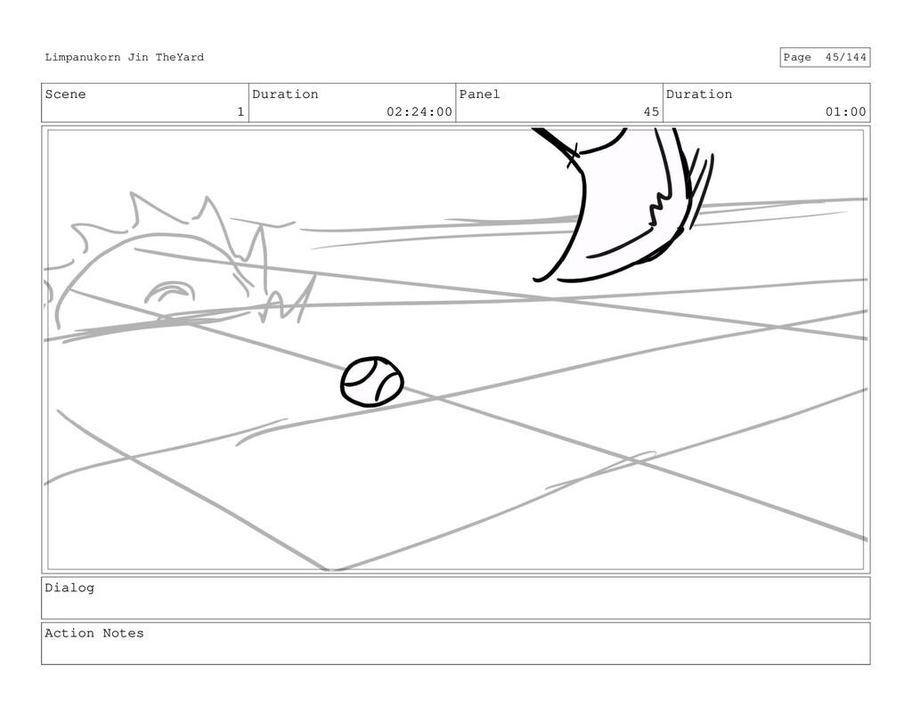Scene 1 Duration 02:24:00 Panel 45 Duration 01:...