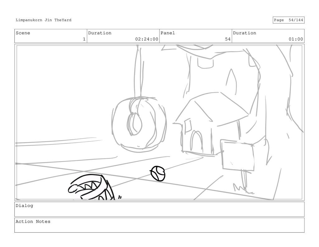 Scene 1 Duration 02:24:00 Panel 54 Duration 01:...