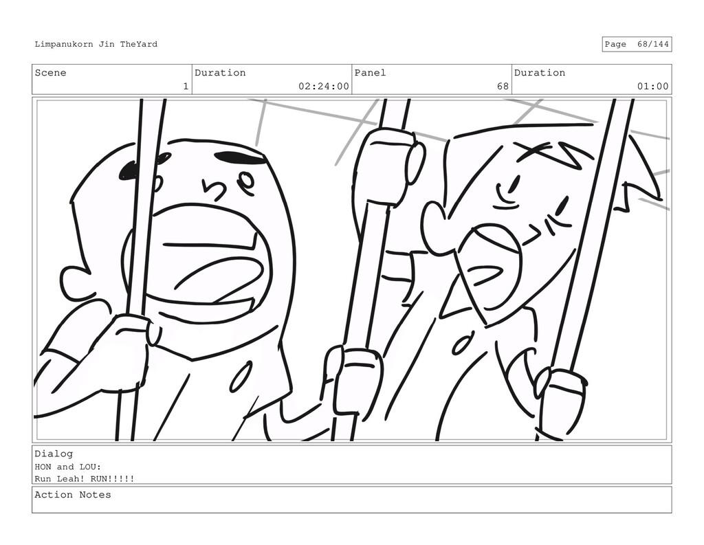 Scene 1 Duration 02:24:00 Panel 68 Duration 01:...