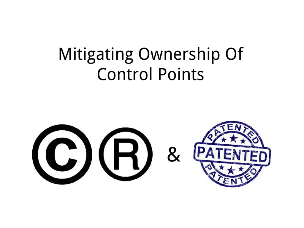 Mitigating Ownership Of Control Points &