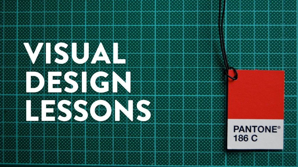 @marktimemedia VISUAL DESIGN LESSONS