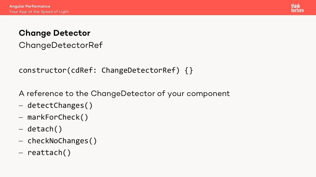 ChangeDetectorRef constructor(cdRef: ChangeDete...