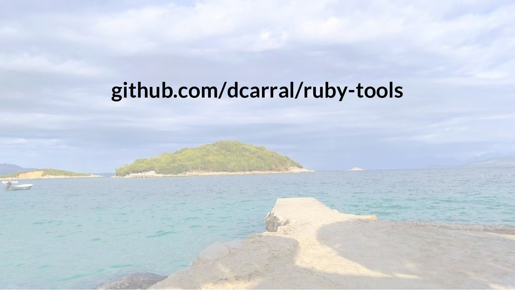 github.com/dcarral/ruby-tools